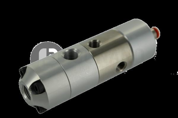 High pressure spool valve
