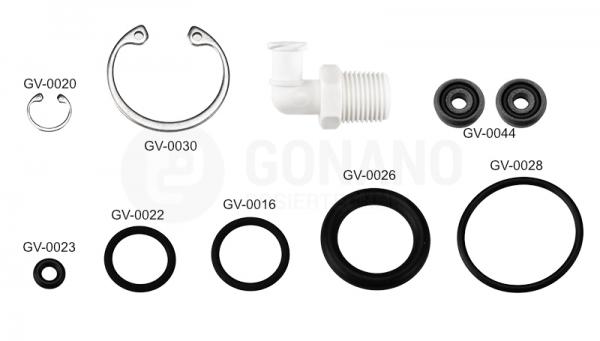 Repair Kit small for Spool valve
